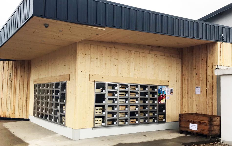 distributeur de pomme à Saint Genis Laval 69